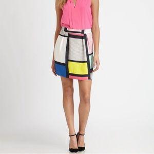 RARE ‼️Kate Spade Barry Color Block Skirt